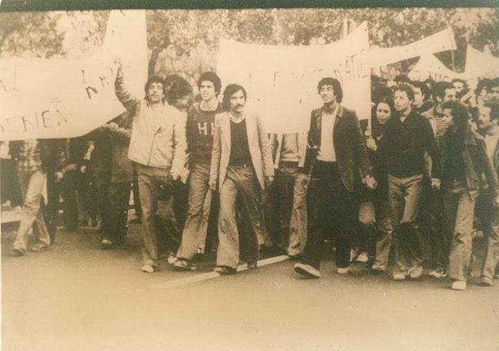 20 avril 1980, grève générale à Tizi Ouzou. Printemps Berbère Printemps