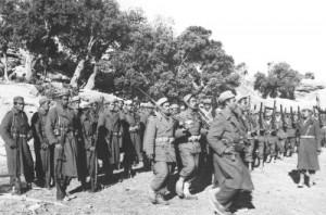 Algerian Rebel Army In Training