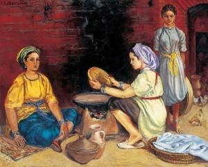 femmes-kabyles-prc3a9parant-le-pain