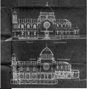 façade Cathédrale Sacré coeur de Jésus