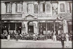 1890 Café de la Régence fin 19ème siècle