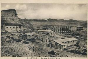 Msila barrage d'eau