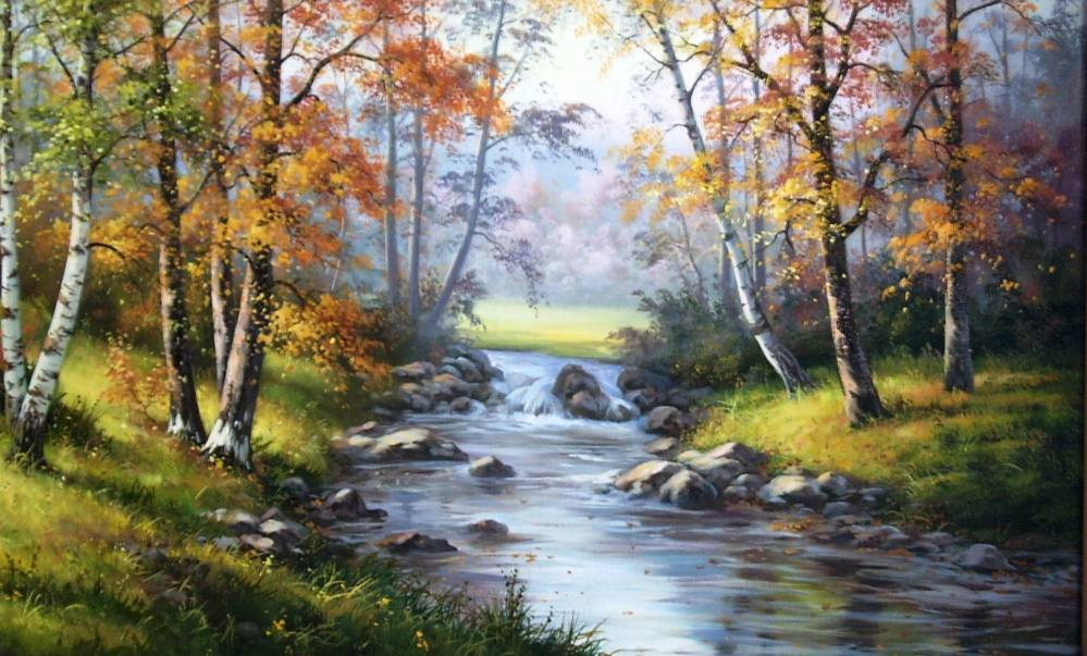 Картины водопада