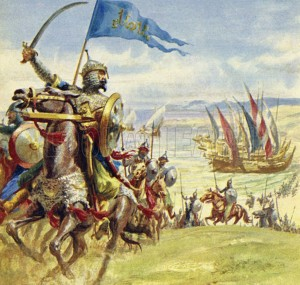 A wild, savage army headed by Yusuf attacked Spain