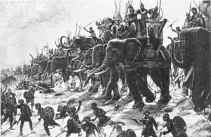 Battle of Zama by Henri-Paul Motte (1890)