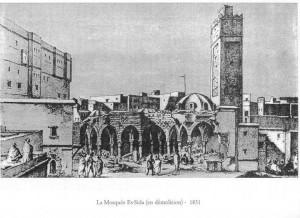 La Mosquée Es-sida en démolition - 1831