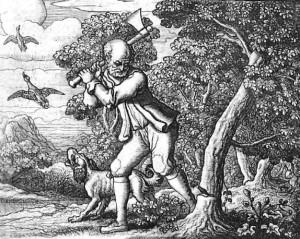 dieu-mercure-et-le-bucheron